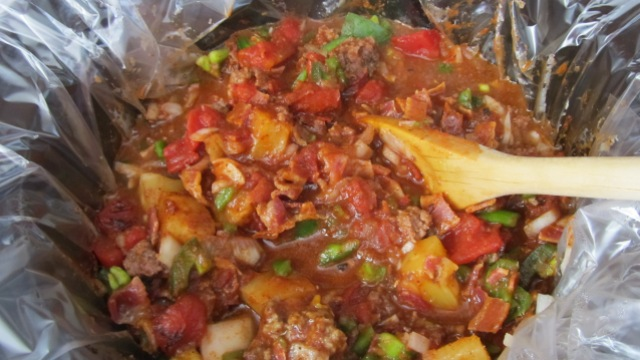 paleo, primal, pineapple chili, slow cooker, dinner, spicy chili